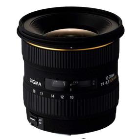 Lente Sigma 10-20mm F 4-5.6 Ex Dc Para Canon