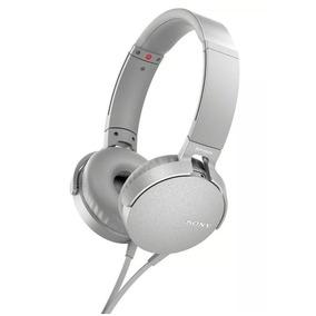Fone De Ouvido Sony Com Microfone Bass Mdr Xb550