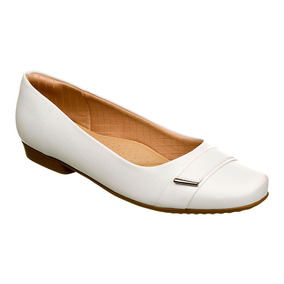 728bf48b2 Sapato Branco Feminino Piccadilly - Sapatos no Mercado Livre Brasil