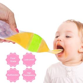 Mamadeira Dosadora Colher Amamentação Bebê Silicone Papinha