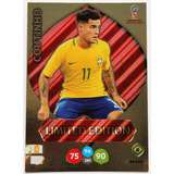 Cards Copa 2018 Adrenalyn Limited Edition Coutinho Brasil