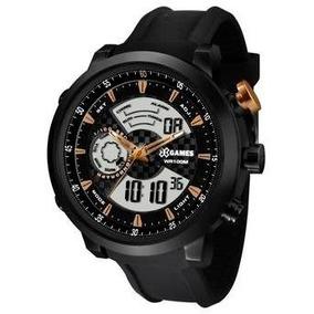 Relógio Masculino X-games Xmspa017 P2px Em Aço