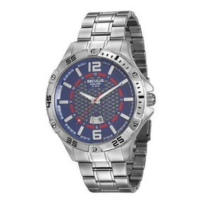 5c7a4334cc1 Relogio Seculus Stilo Modelo 23090g0 Masculino - Relógios De Pulso ...