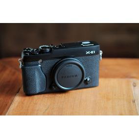 Camera Fuji X-e1 Ou Xe1 + Case Couro Original E Thumb Grip