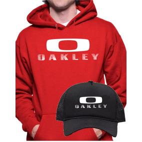 Boné Oakley Vermelho America Acessorios Moda Bones Masculino ... 7f0c74a1e60