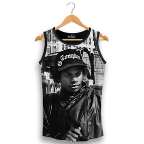 e1baa178d4784 Camiseta Eazy E - Camisetas Regatas no Mercado Livre Brasil