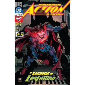 Hq Superman Action Comics 22 Renascimento Dc Panini Comics