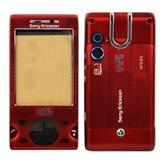 Carcasa Celular Sony Ericsson W995 Repuesto Roja