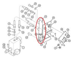 Pistao Hidrurílico Embreagem Case Ih 2388 (87337243)