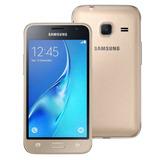 Smartphone Samsung Galaxy J1 Mini Duos Dourado Com Dual Chip