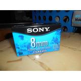 Videocasete Sony 8 Mm Mp Estandar 120 Min Nuevo