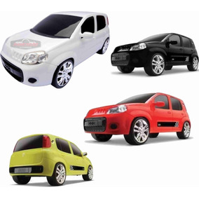 Carrinho Infantil Fiat Uno Attractive - Roma Brinquedos