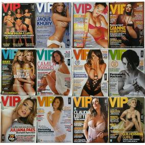 Lote Com 12 Revistas Vip + 2 Brindes