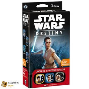 Jogo De Cartas Star Wars Destiny Pacote Inicial Rey - Saldão