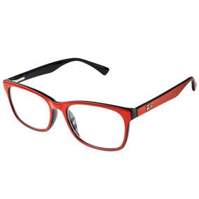 3eb57538d6126 Armacao Oculos Grau Feminino Ray Ban Vermelho - Óculos no Mercado ...