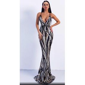 Vestido De Noche Talla L
