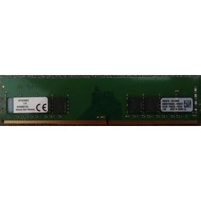 Memoria Ram 4 Gb Ddr4 2133 Mhz Kingston. Pc/escritorio