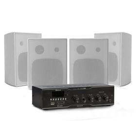 Kit Frahm Amplificador Slim 1000 Plus + 4 Caixas Ps200 Plus