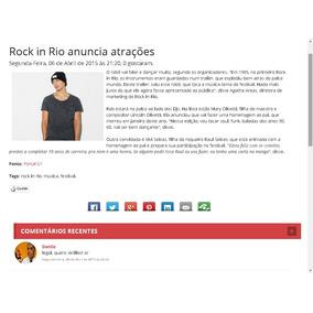 87ac886d74 Portal De Noticias Em Php E Mysql - Informática no Mercado Livre Brasil