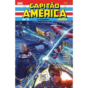 Hq Comics Gibi Capitão America Varios Modelos Panini