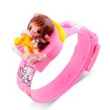 Reloj Skmei 1240 Digital Con Gatitos Para Nena Niñas