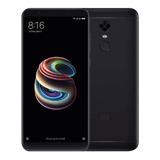 Celular Xiaomi Redmi 5 Plus 64gb Negro Dual Sim Librre De Fa