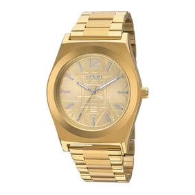 Relógio Feminino Euro Premium Tribal Eu2036jg/4d Dourado