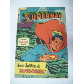 Hq: Superman Nº 1 - Nova Série - 1964 - Ebal - Raríssima
