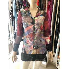 b2a1069bc0bdd Camisas Mujer Diseño - Ropa y Accesorios Negro en Mercado Libre ...