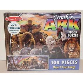 Quebra Cabeças Gigante Arca De Noé 100 Peças - Melissa & Dou