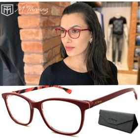 Oculos De Grau Feminino Estampada - Óculos no Mercado Livre Brasil 52c6f0b426