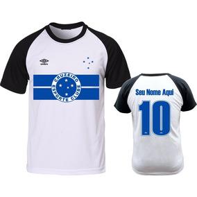 987cc1d272278 Camisa Cruzeiro Preta - Camisetas no Mercado Livre Brasil
