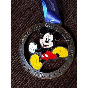 Medalha Magic Run Disney 2013 Mickey