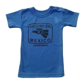 0925b45dc1ab1 Hecho En México Playera Niño Talla  2 Años Baby Rock