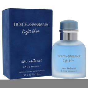 39b1a66b6ef0a Eau Azul Luz Intenso Por Dolce Y Gabbana Para Hombres - Edp