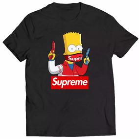 Supreme Camiseta - Calçados, Roupas e Bolsas no Mercado Livre Brasil 204f0341a0
