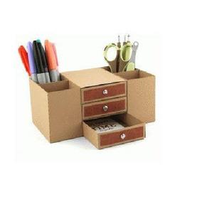 Lk245 Arquivo Silhouette - Caixa Escrivaninha Organizador