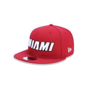 Bone 950 Miami Heat Nba Aba Reta Snapback Vermelho New Era 104a63c9e9c