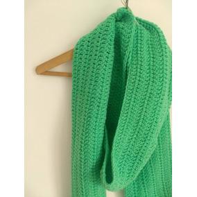 Coloridas Bufandas Tejidas Al Crochet - Ropa y Accesorios en Mercado ... 074e105140a