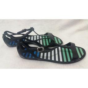 Sandália adidas Zx Sandal, Número 37, Preta Com Verde