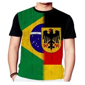 4d9cc93943125 Camisa Bandeira Alemanha - Camisetas e Blusas no Mercado Livre Brasil