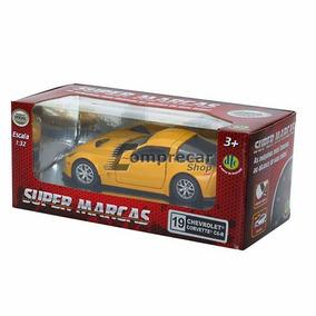 Super Marcas 1:32 Chevrolet Corvette C6-r Amarelo Dtc 3388