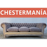 Sofa Chester Chesterfield Deconstructed Pana O Lino De 2.10m