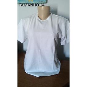 c0af761eda8 Camiseta Brooksfield Branca - Calçados