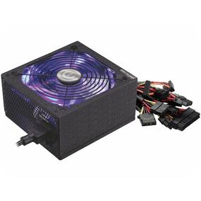 Fonte De Alimentação Atx Gamer K-mex 600 Watts