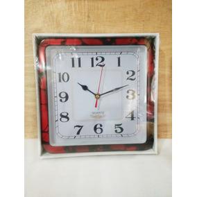 Reloj De Pared Cuadrado.