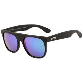Evoke Haze - Óculos De Sol Black Matte  Green Espelhado 356d89066b