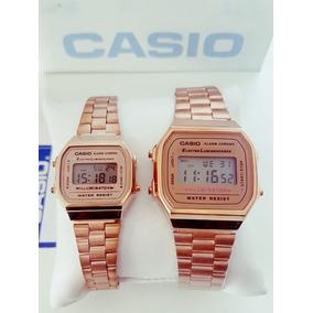 Reloj Casio Rosa/rose Mini Retro Dama Vintage 1572