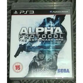 Alpha Protocol (ps3) | Midia Fisica