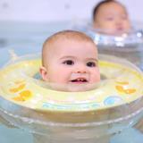 Aro Flotador Aprendizaje Para Bebé + Pañal De Agua Swimava